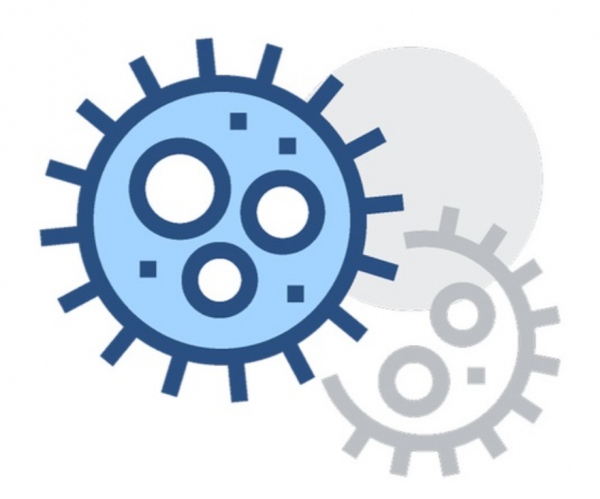 bacteria in water test icon
